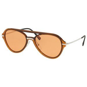 Prada Aviator Style Orange Lens.
